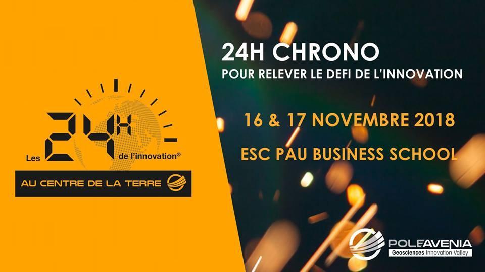 24H de l'innovation au centre de la Terre du Pole Avenia