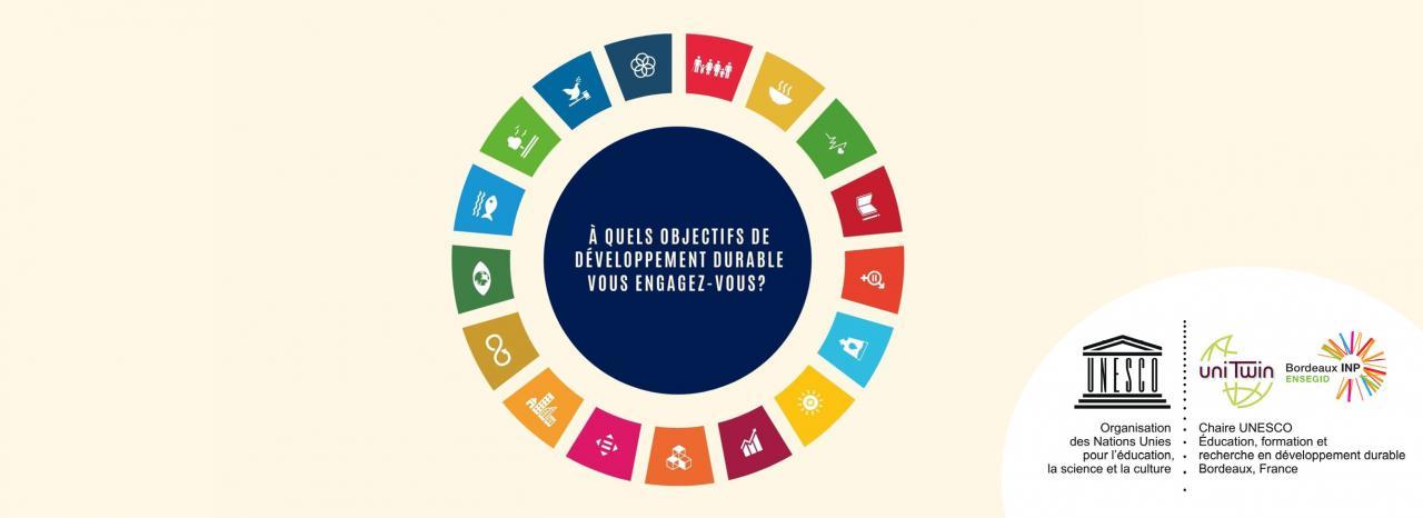 Bandeau objectifs du développement durable