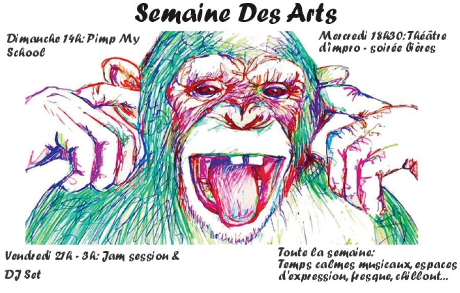 Programme de la Semaine des Arts