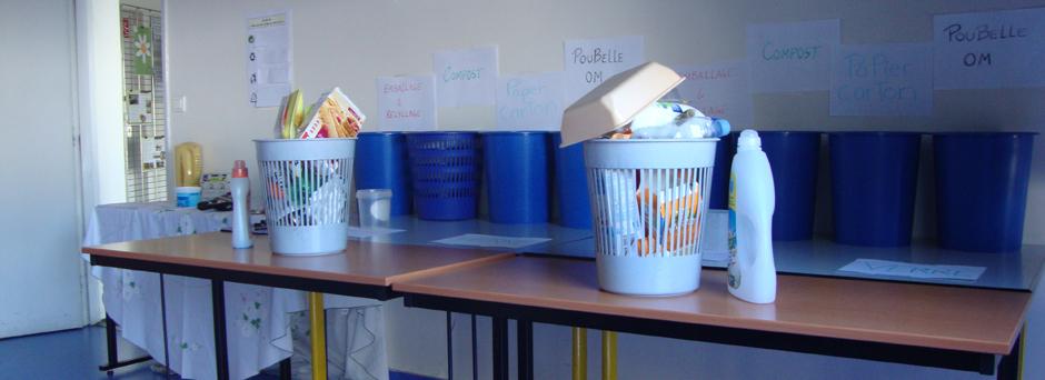 Atelier tri des déchets