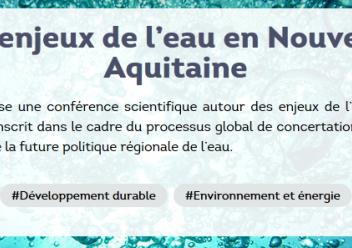 Bandeau les enjeux de l'eau en Nouvelle-Aquitaine